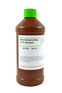 Bromothymol Blue Solution, 0.1%, (Aqueous), 500mL