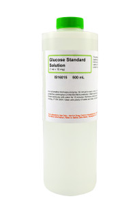 Glucose Standard Solution, 1 mL = 10mg, 500mL