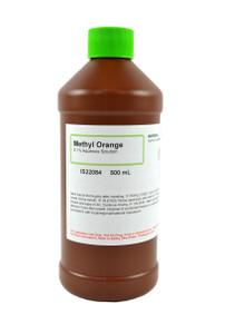 Methyl Orange Solution, 0.1%, (Aqueous), 500mL