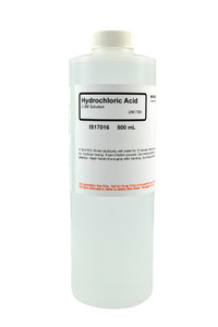Hydrochloric Acid Solution, 0.5M, 500mL