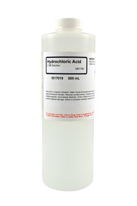 Hydrochloric Acid Solution, 2.0M, 500mL