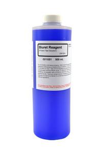 Biuret Solution, (Protein Test), Reagent Grade, 500mL