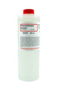 Phenolphthalein Solution, 0.5%, (Alcoholic), 500mL