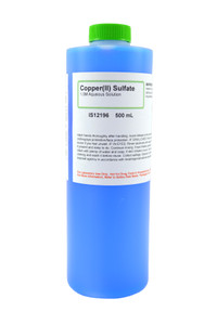 Copper (II) Sulfate Solution, 1.0M, 500mL