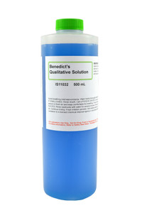 Benedict's Qualitative Solution, 500mL