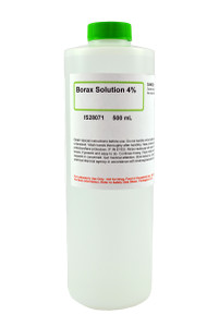 Borax Solution, 4%, 500mL
