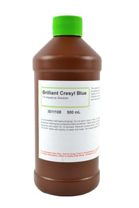 Brilliant Cresyl Blue Solution, 1%, 500mL