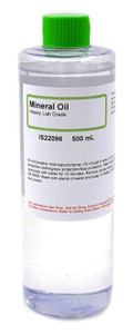 Mineral Oil, Heavy, Lab Grade, 500mL