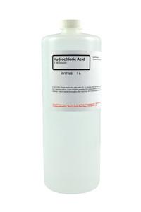 Hydrochloric Acid Solution, 0.1M, 1 Liter