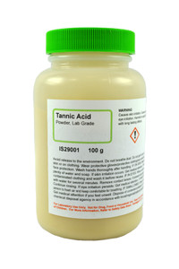 Tannic Acid, Powder, Lab Grade, 100 grams