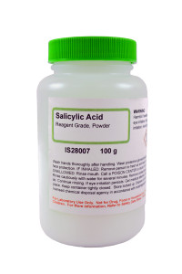 Salicylic Acid, Reagent Powder 100 grams