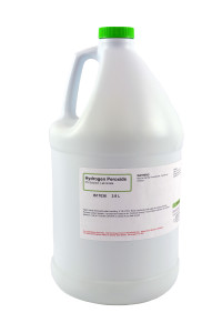 Hydrogen Peroxide 3%, Lab Grade, 3.8 Liters