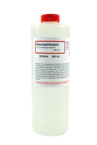 Phenolphthalein Solution, 1.0%, (Alcoholic), 500mL