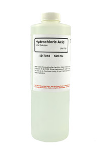 Hydrochloric Acid Solution, 3M, 500mL