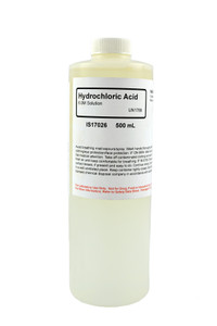 Hydrochloric Acid Solution, 6.0M, 500mL