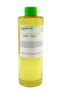 Vegetable Oil, Lab Grade, 500mL
