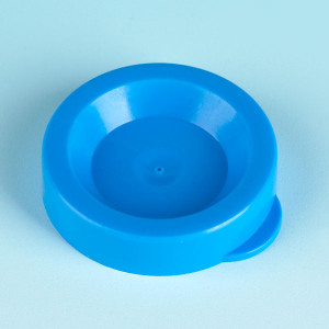 Snap Caps, PE, Blue for Flared Top Urine Tube, case/1500