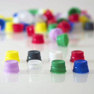 Snap Caps, 12/13mm, PE for Vacuum and Test Tubes, Blue, bag/1000