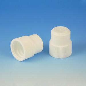 Plug Cap, 16mm, White, bag/1000