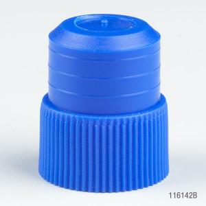 Plug Cap, 16mm, Blue, bag/1000