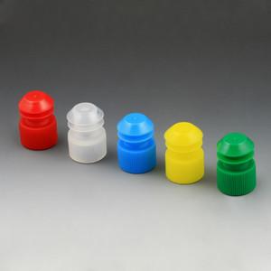 Flange Plug Caps, 16mm, Blue, bag/1000