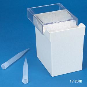 Pipette Tips, 1000 - 10,000uL Natural for Finnpipette, Brand, Gilson, Socorex & Labsystem, 4 Racks/Unit, case/100