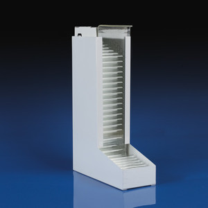 Dispenser for 10x75mm and 12x75mm Glass Culture Tubes, Metal