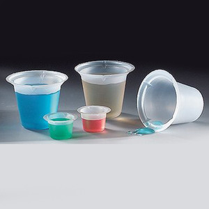 Beaker, Disposable, Polystyrene, 150mL, case/100