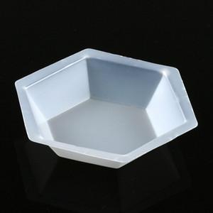 Weighing Boat, Plastic, Hexagonal, Antistatic, Polystyrene, White, X-Large, 350mL, case/500