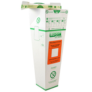 Bio-Bin Disposable Biohazard Bin for Pipettes, 6 Liter, case/40
