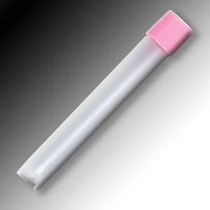Sample Tubes, 5mL, External Threads, Polypropylene, Round Bottom, Self-Standing, bag/1000