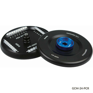 Rotor with Lid for GCM-24 Series High Speed Micro Centrifuges, 15000rpm, Holds (4) 0.2mL 8-PCR Strips