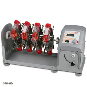 Tube Rotator, Horizontal, Digital, Adj Speed & Angle, 120-240V with Tube Holder for (16) 50mL Tubes