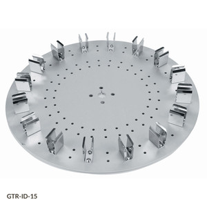 Tube Holder Disk for GTR-ID Series Tube Rotators, 16-Place Disk for 15mL Centrifuge Tubes