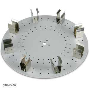 Tube Holder Disk for GTR-ID Series Tube Rotators, 8-Place Disk for 50mL Centrifuge Tubes