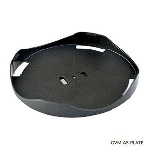 Round Plate Adapter, 100mm for GVM Series Vortex Mixers (for Foam Tube Adapters and Dimpled Pad)