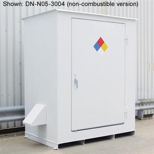 Hazmat 2-Drum Storage Building, Fire Rated N05-4004