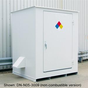 N05-4009 Hazmat 4-Drum Storage Building, Fire Rated