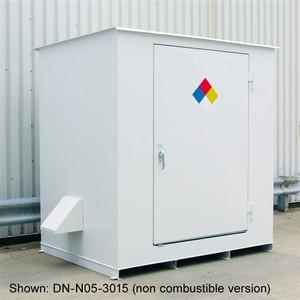 N05-4015 Hazmat 6-Drum Storage Building, Fire Rated