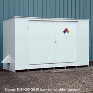 Hazmat 12-Drum Storage Building, Fire Rated