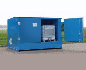 2-Tote IBC Containment Locker, Fire Rated