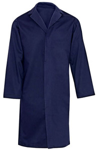 Flame Resistant FR Clothing, Westex UltraSoft® Lab Coat, Navy