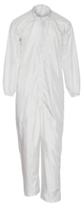 Flame Resistant FR Clothing, Cleanroom Coveralls, White