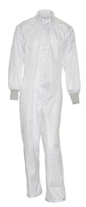 Cleanroom Coveralls, Burlington Nano C-3, White