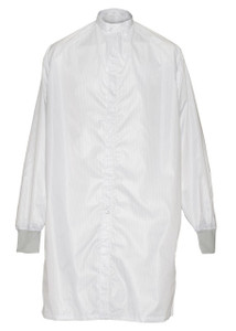 Cleanroom Frock Coat, Burlington Nano C-3, White