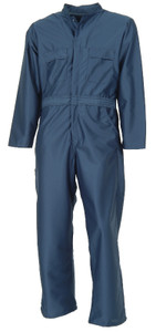 ESD Anti-Static Coveralls for Antistat Operations, Navy