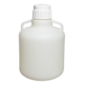 10 Liter Carboy, LDPE with 83mm PP Closure (83B)