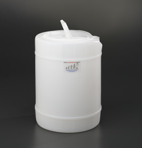 5 gallon drum, Plastic with 70mm cap size (FS70)