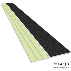 EcoGlo Glow in the Dark, No-Slip Stair 40 Inches