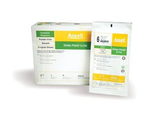Ansell Gammex® Latex-Free Powder-Free Sterile Neoprene Surgical Gloves, 200 pairs